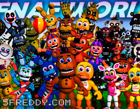 Play FNAF World Simulator