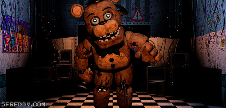 Freddy Fazbear from Five Nights at Freddy's 2